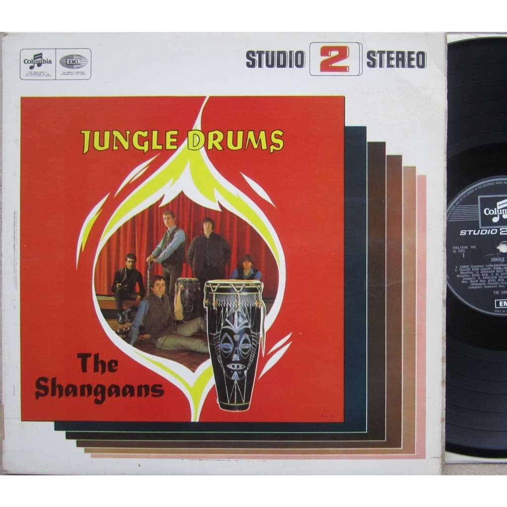 shangaans jungle drums