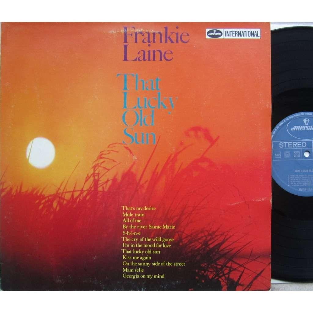 frankie laine that lucky old sun