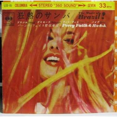PERCY FAITH & HIS ORCHESTRA Music Of Brazil