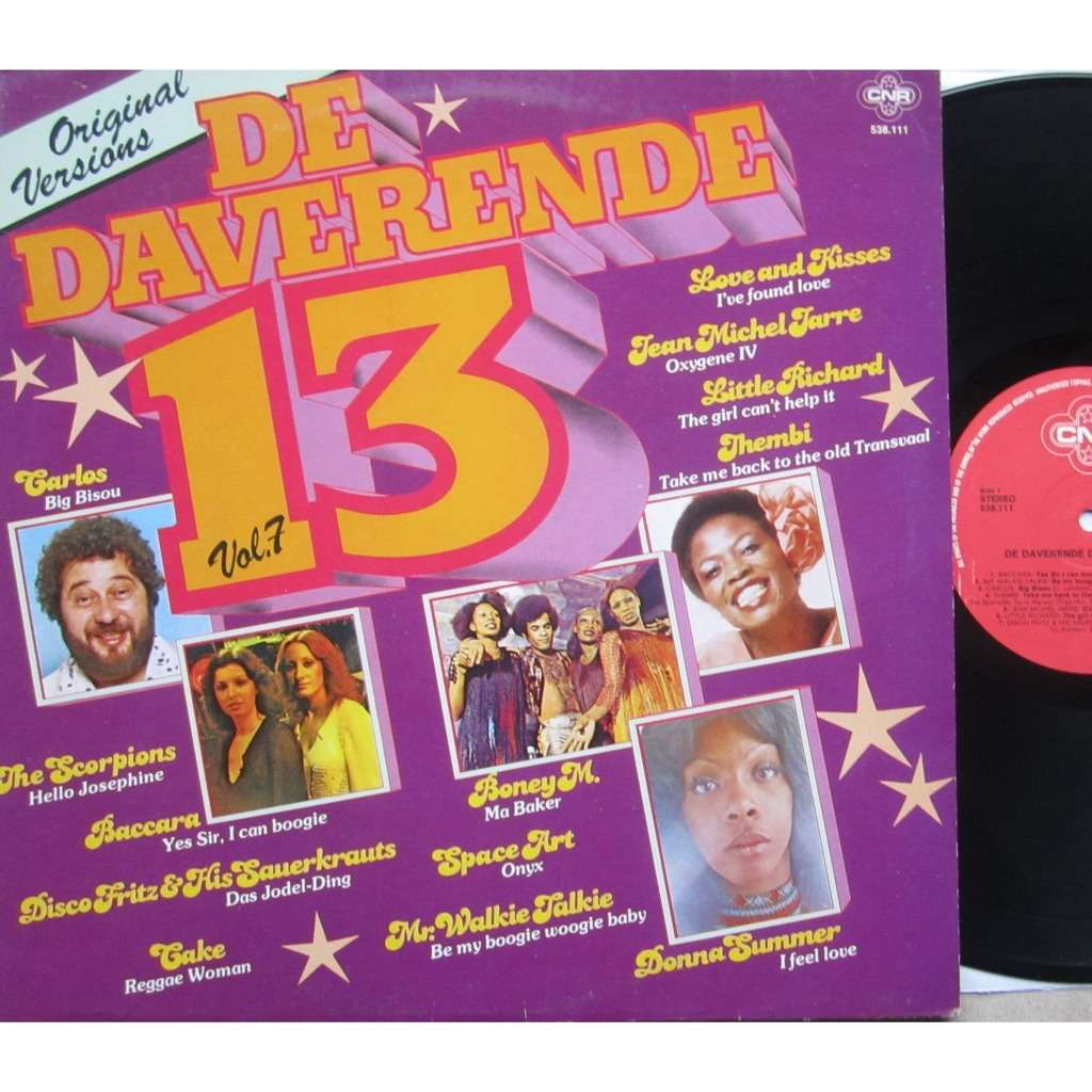 divers artistes - various artist de daverende 13 - vol. 7