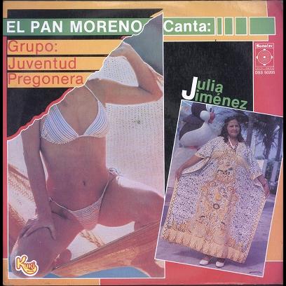 Juventud pregonera, Julia Jimenez El Pan Moreno