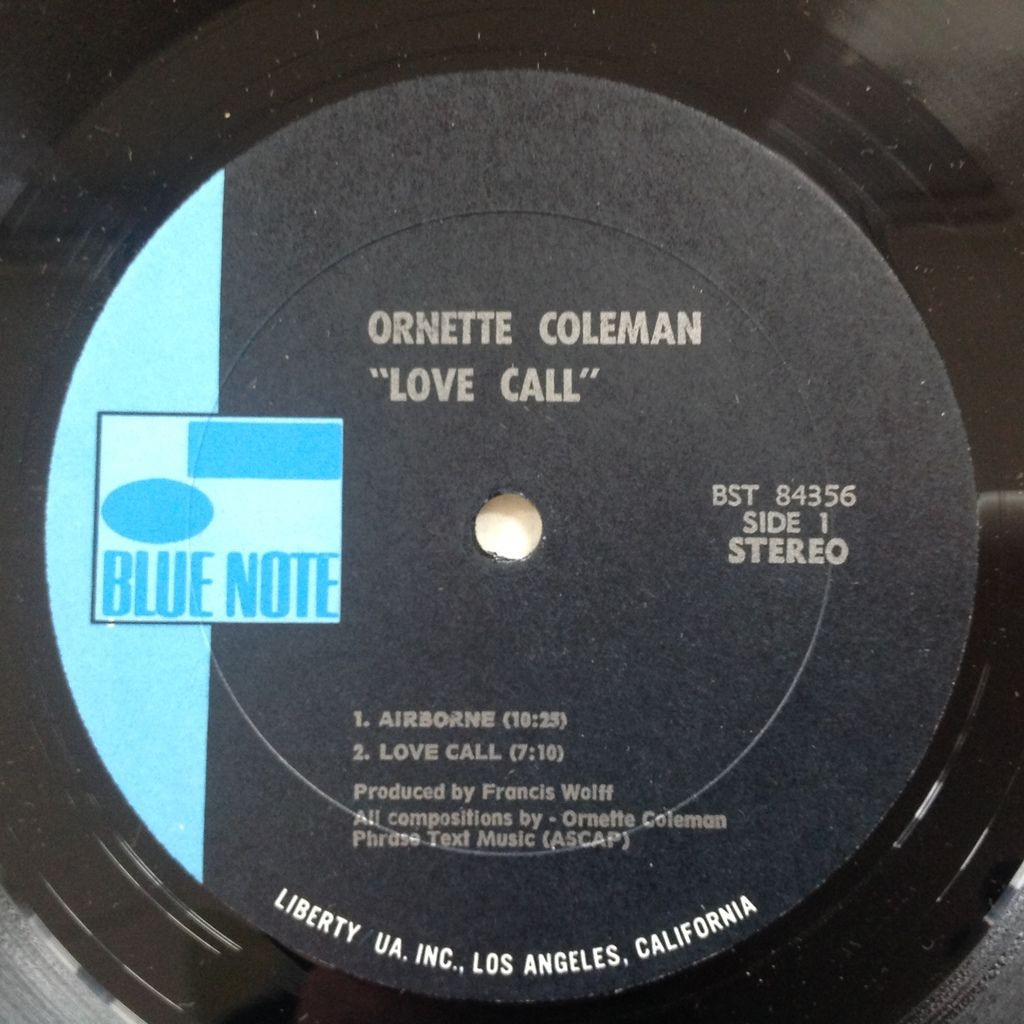 Ornette Coleman Dewey Redman Elvin Jones Garrison Love Call