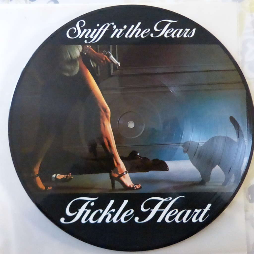 SNIFF 'N' THE TEARS FICKLE HEART PICTURE DISC