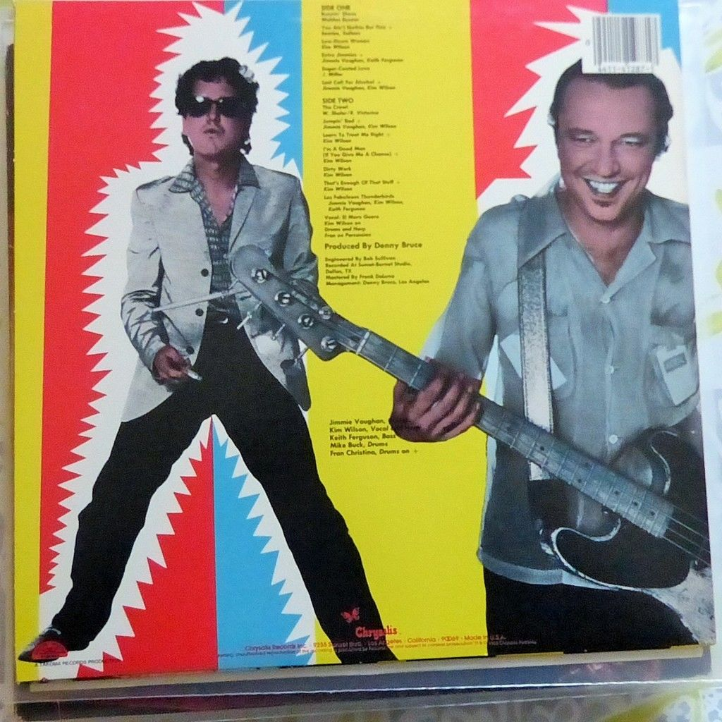 THE FABULOUS THUNDERBIRDS WHAT'S THE WORD