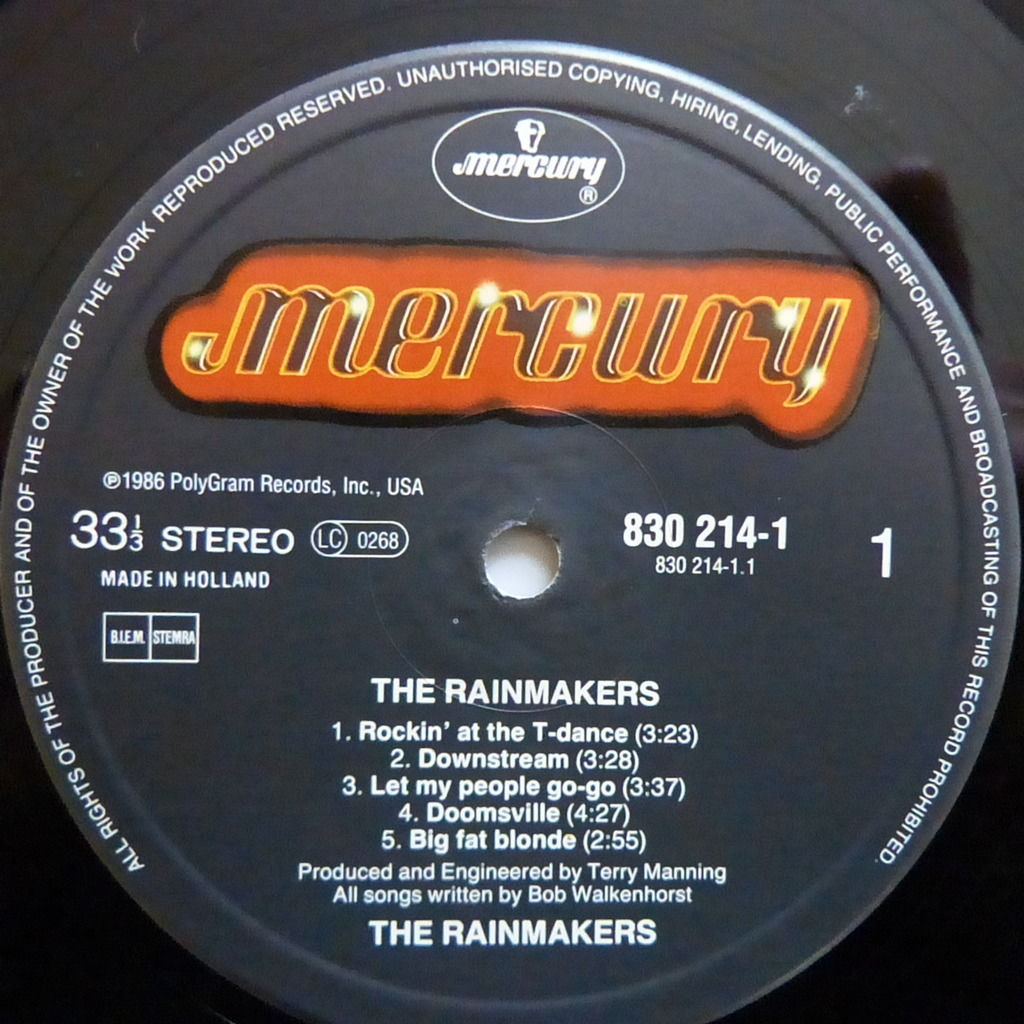 THE RAINMAKERS THE RAINMAKERS