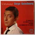SERGE GAINSBOURG - L'étonnant / Les Oubliettes +3 - 45T (EP 4 titres)