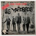 YARDBIRDS - For Your Love +3 - 45T (EP 4 titres)