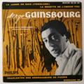 SERGE GAINSBOURG - La Jambe De Bois +3 - 45T (EP 4 titres)