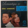 SERGE GAINSBOURG - Romantique 60/Judith +3 - 45T (EP 4 titres)