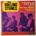 ROLLING STONES - I Wanna Be Your Man +3 - 45T (EP 4 titres)