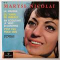 MARYSE NICOLAÏ - La Mamma +3 - 45T (EP 4 titres)