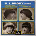 P.J. PROBY - Somewhere +3 - 45T (EP 4 titres)