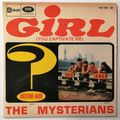 ? (QUESTION MARK) & THE MYSTERIANS - Girl +3 - 45T (EP 4 titres)