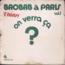 BAOBAB ORCHESTRA - A Paris vol.1 On verra ça - LP
