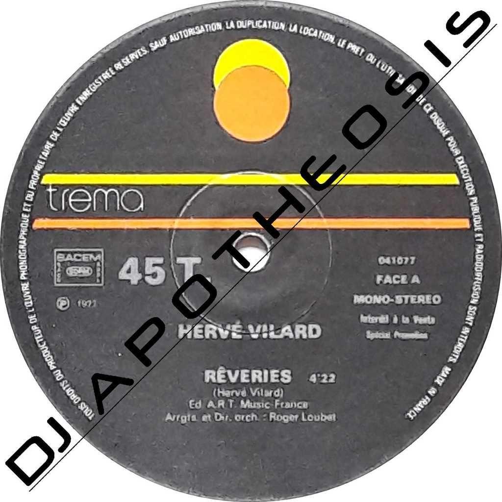 HERVE VILARD Rêveries (Promo club)