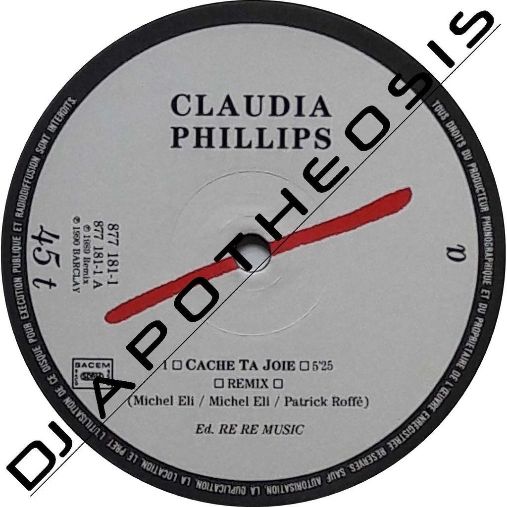 CLAUDIA PHILLIPS Cache ta joie