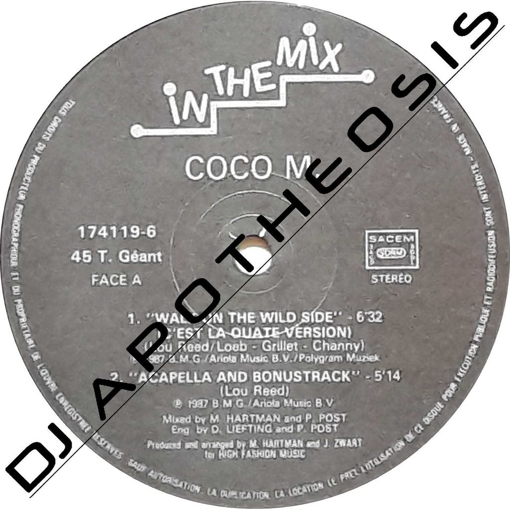 COCO M. Walk on the wild side (C'est la Ouate version)