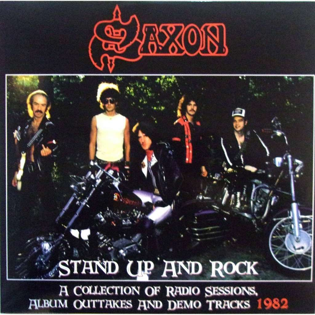 Saxon Stand Up And Rock (lp)