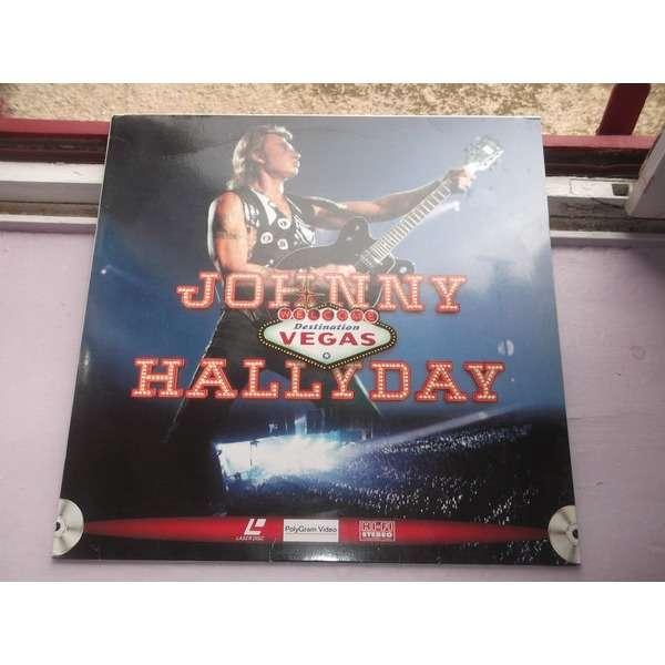 johnny hallyday LASER DISC Destination Vegas