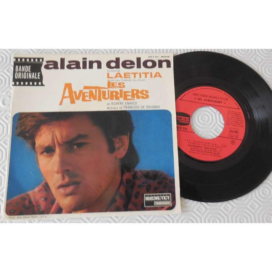 ALAIN DELON LES AVENTURIERS