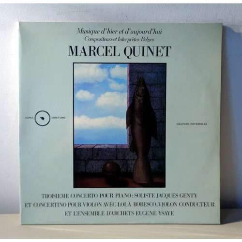 LOLA BOBESCO & JACQUES GENTY MARCEL QUINET Concerto pour violon - Concerto pour violon