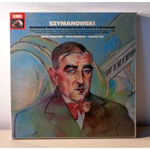 ANTONI WIT & JERZY SEMKOW SZYMANOWSKI Orchestral works
