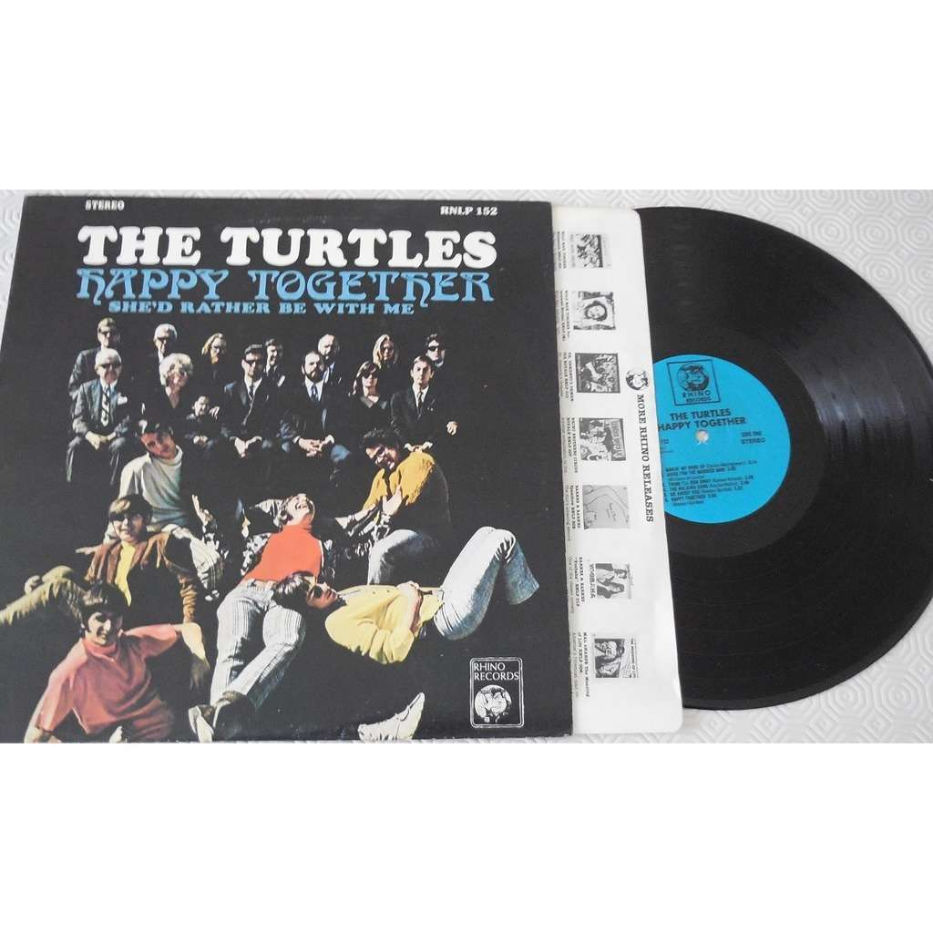 THE TURTLES Happy Together USA
