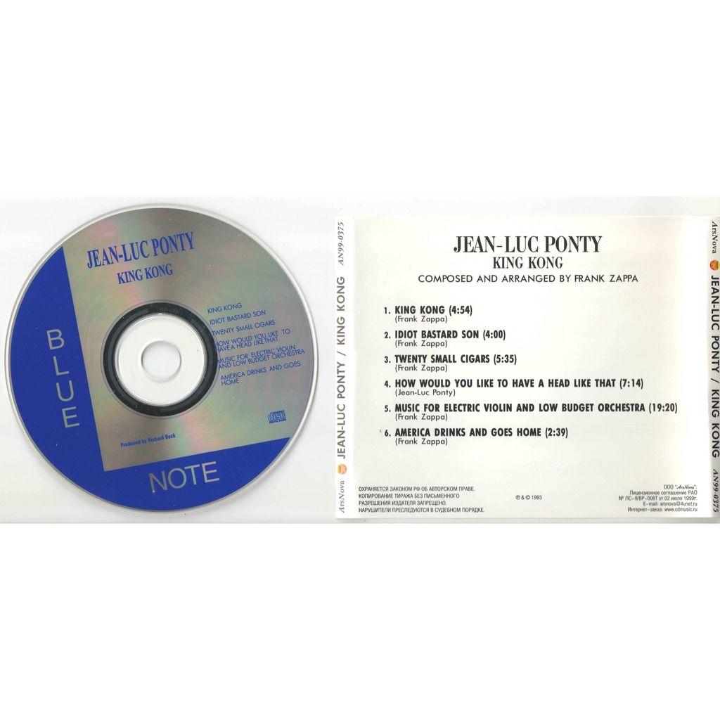 jean-luc ponty King Kong Jean-Luc Ponty plays the music of Frank Zappa
