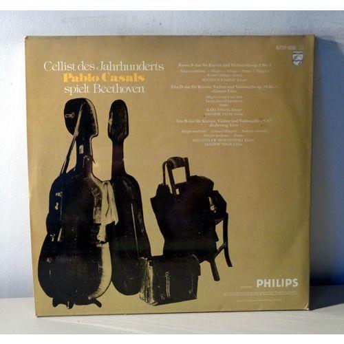PABLO CASALS Plays BEETHOVEN cello sonatas & Trios