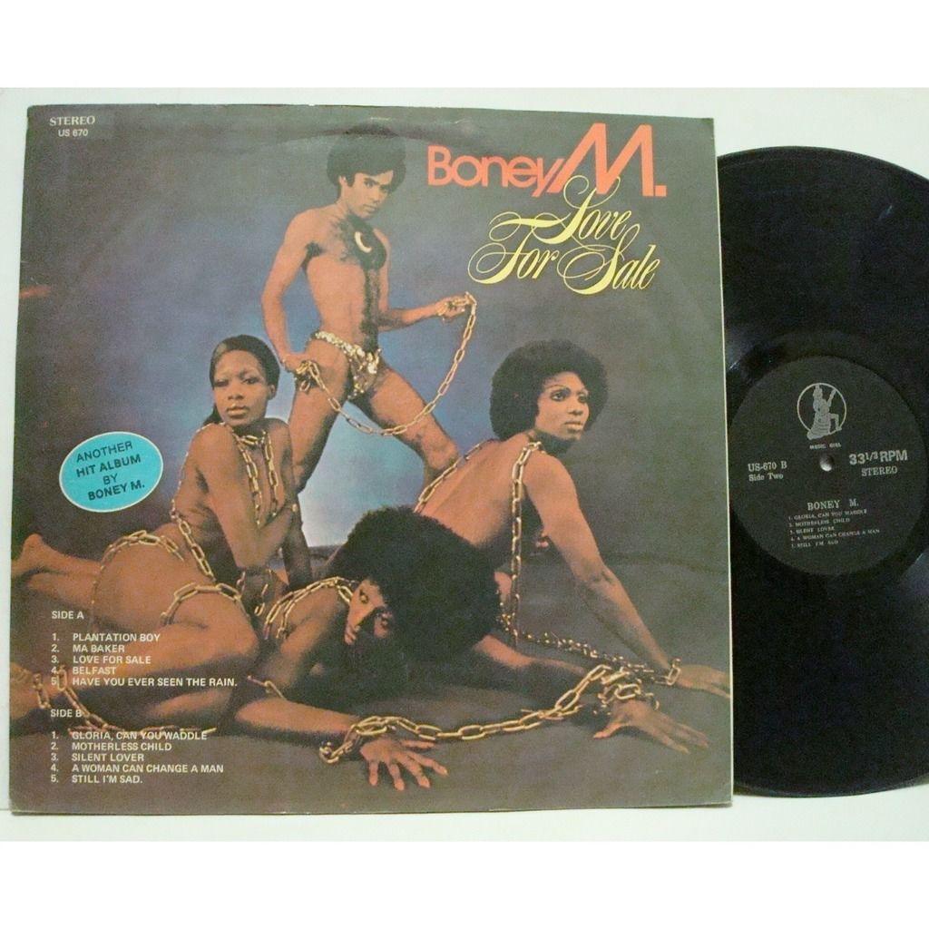 Boney M. Love For Sale (Malaysia)