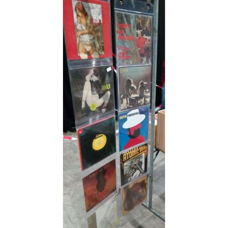 pochettes présentoir pour 5 vinyles 33 tours Décoration Porte Disque Pvc Pour 5 Disques Vinyles 33t