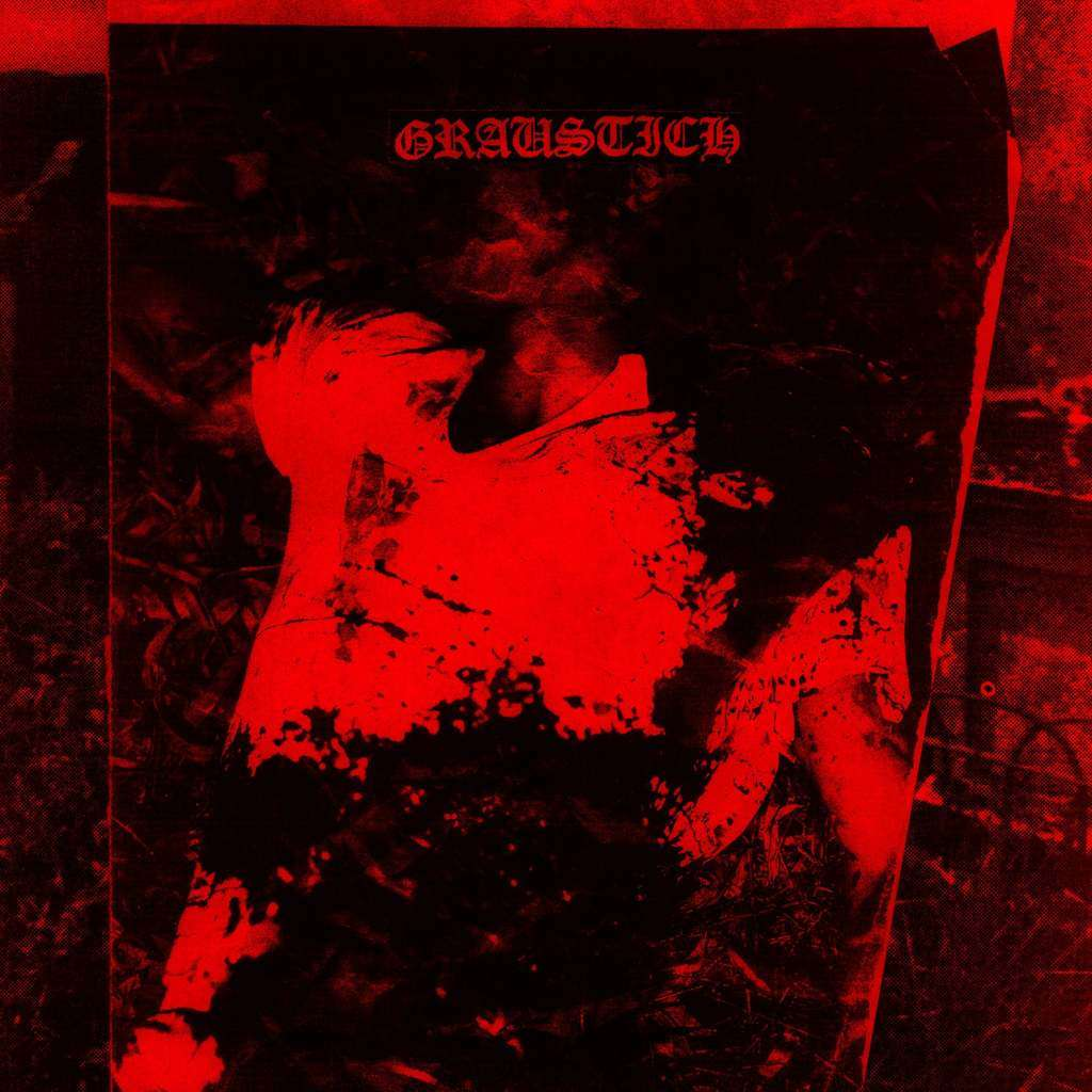 Graustich Blood Patrol (Lathe-cut record. Red cover)