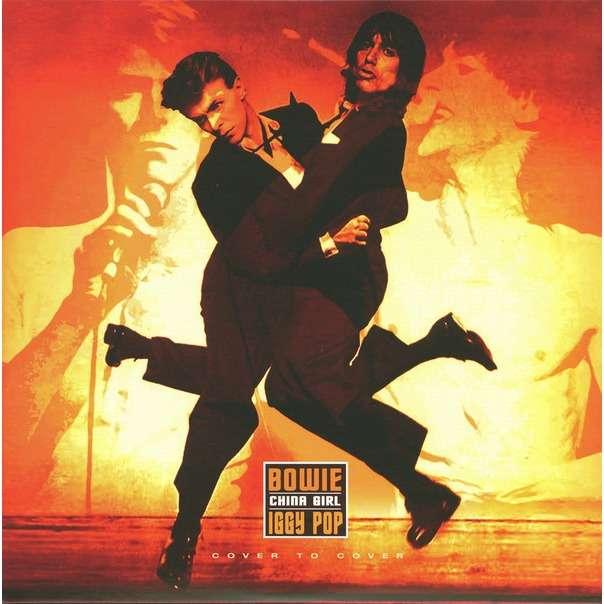 David Bowie / Iggy Pop China Girl Ltd Orange Vinyl 7 Inch