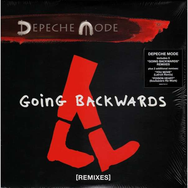 DEPECHE MODE Going Backwards [Remixes] Double 12 Inch