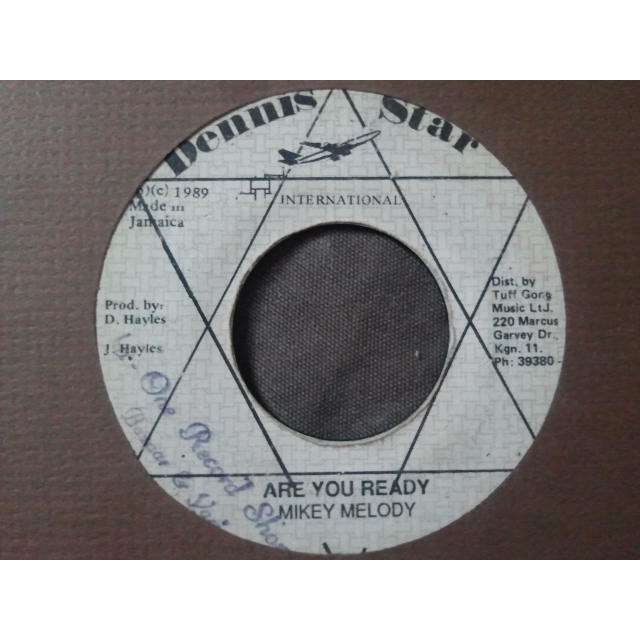 MIKEY MELODY ARE YOU READY / VERSION ORIG