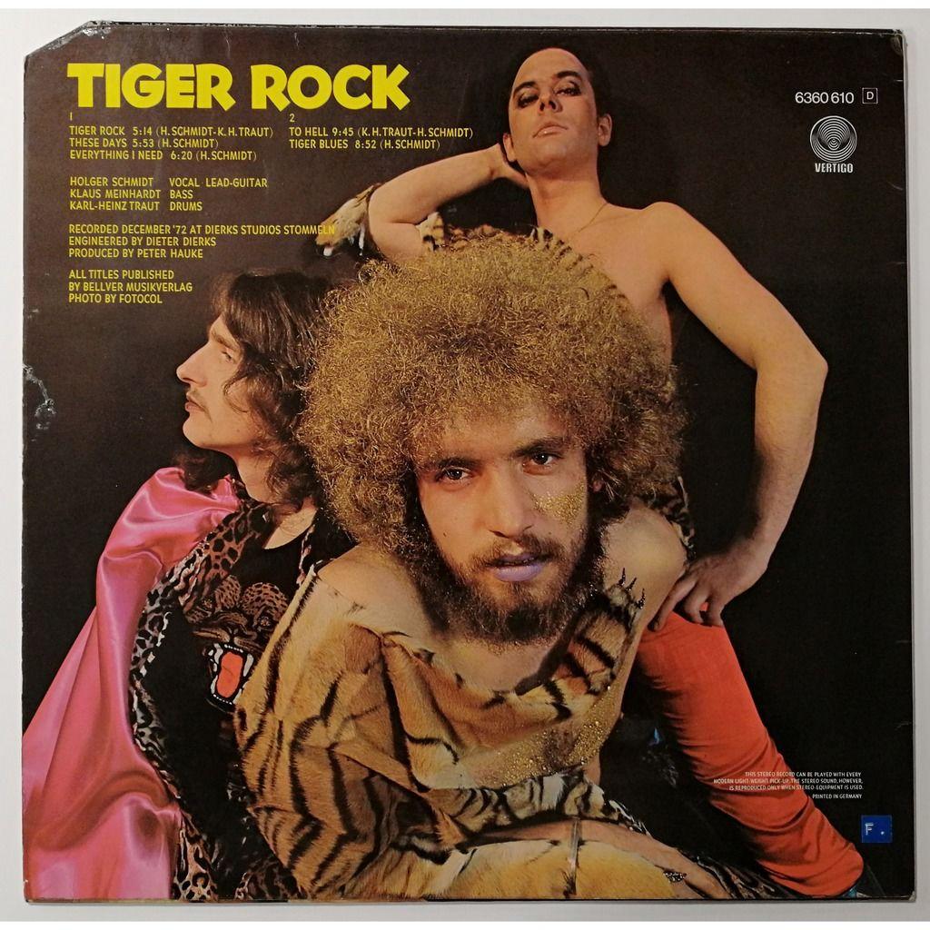 Tiger B. Smith Tiger Rock