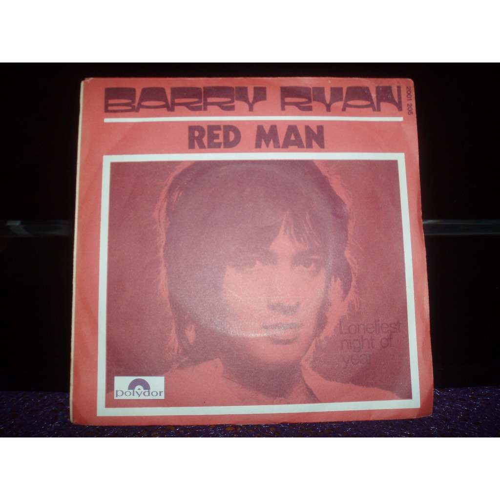 BARRY RYAN RED MAN / LONELIEST NIGHT OF YEAR