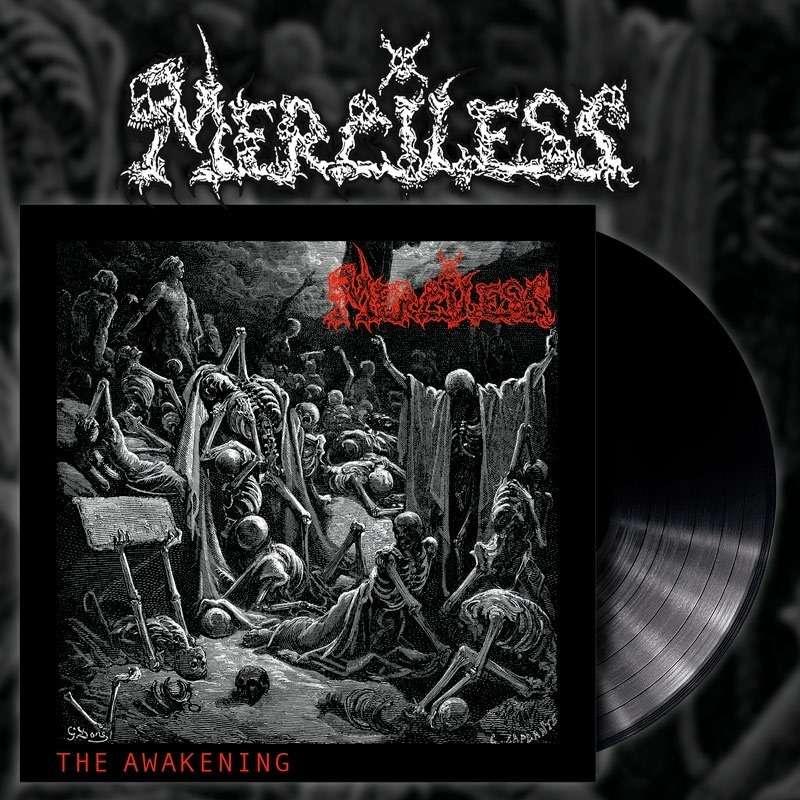 MERCILESS The Awakening. Black Vinyl
