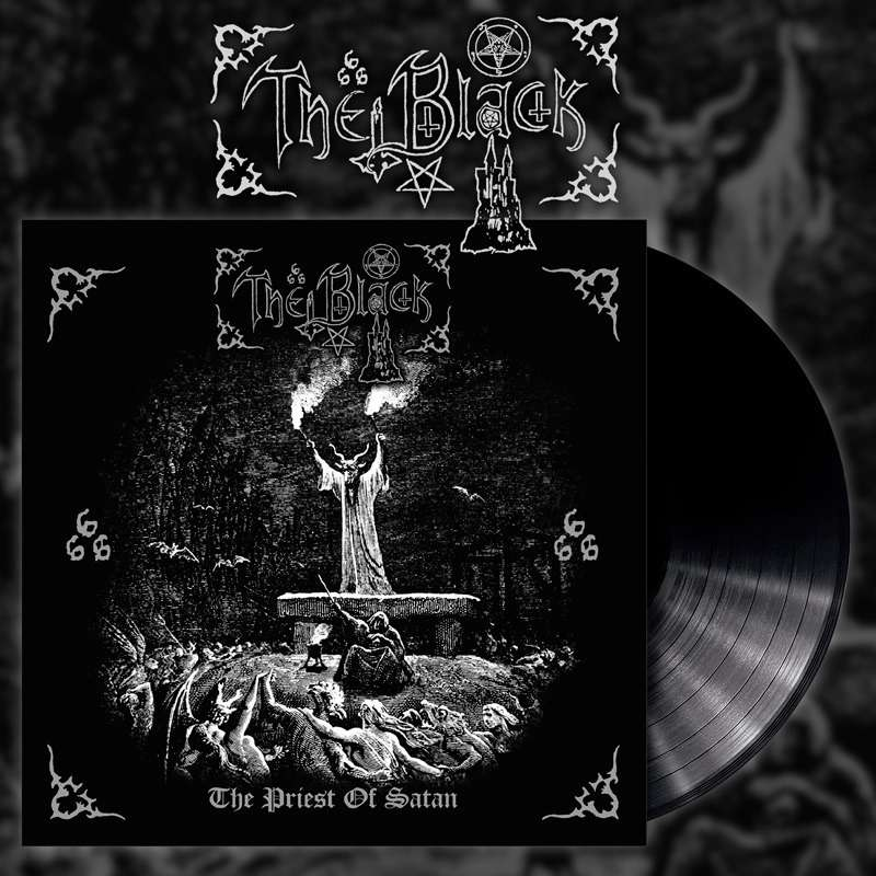 THE BLACK The Priest of Satan. Black Vinyl