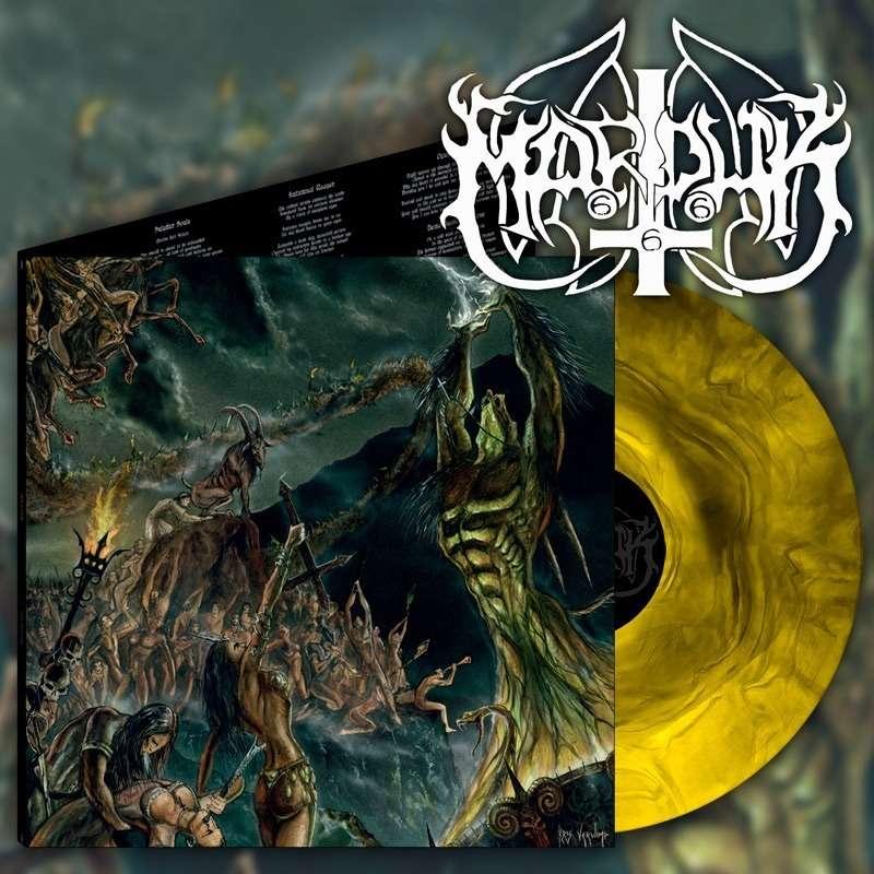 MARDUK Opus Nocturne. Yellow Galaxy Vinyl