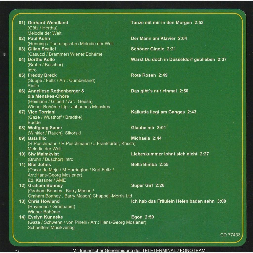 divers artistes - various artist JAHRHUNDERT MELODIEN FOLGE 3