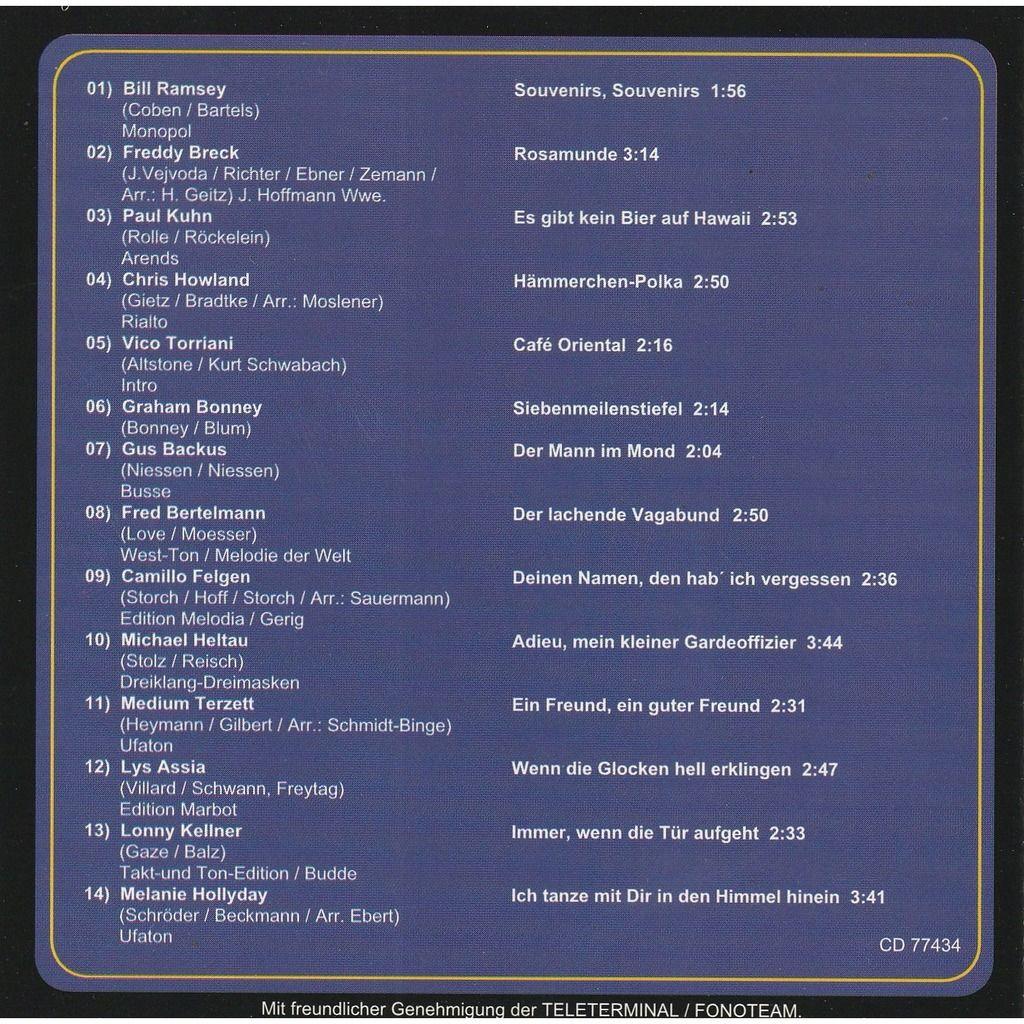 divers artistes - various artist Jahrhundert melodien folge 4