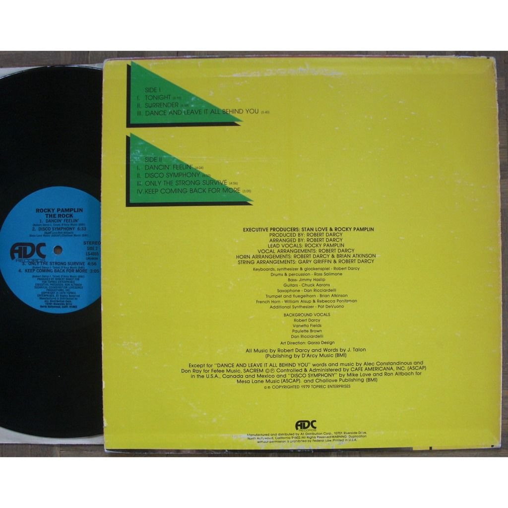 Rocky Pamplin The Rock