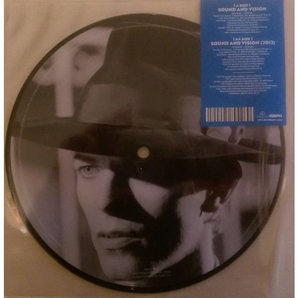 David BOWIE Sound And Vision Ltd 7 inch picture disc