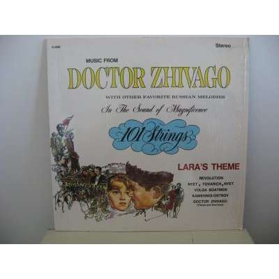 101 Strings Orchestra Music From Doctor Zhivago