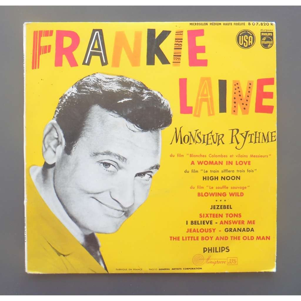 FRANKIE LAINE A WOMAN IN LOVE + 9