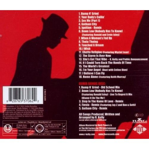 R. Kelly the R. r&b greatest collection volume 1