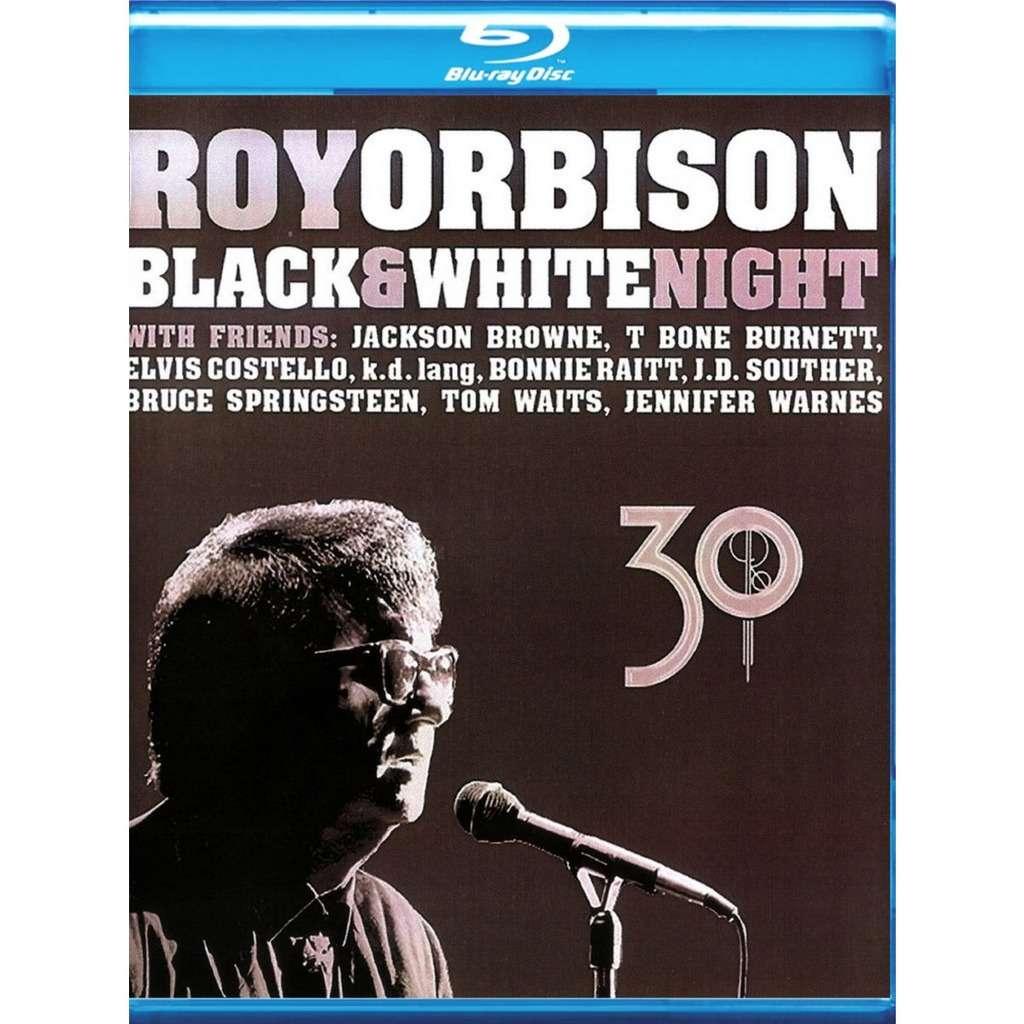 Roy Orbison Black & White Night 30 anniversary Blu-Ray Worldwide Free Shipping