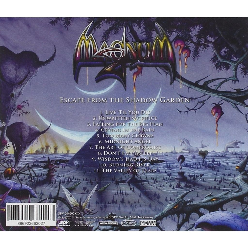 Magnum Escape From The Shadow (cd)
