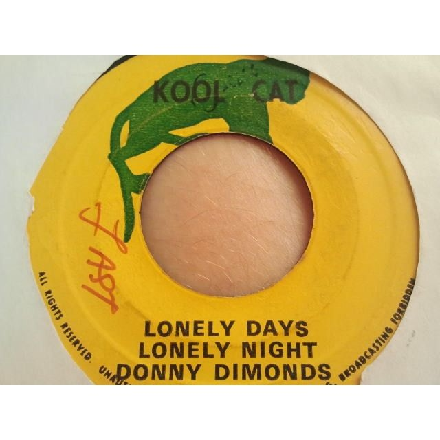 Donny Dimonds Lonely Days, Lonely Nights / I'm So Proud ORIG